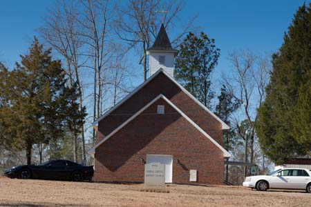 China Grove Baptist Church Damaged by Earthquake