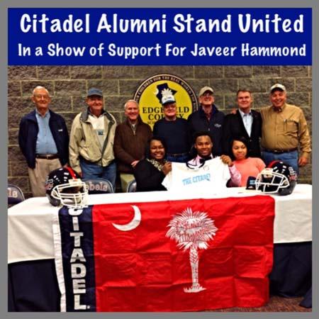 Citadel Alumni Show Support to Jauveer Hammond