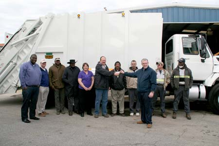 Johnston Gets New Trash Truck