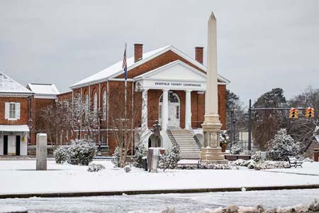 Edgefield County Government Offices Closed Wednesday and Thursday
