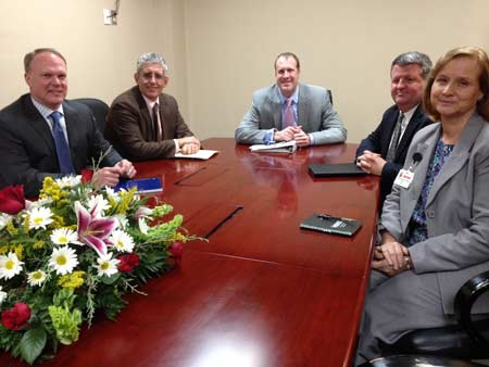 Hospital CEO Meets for Healthy Outcomes Plan