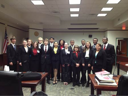 STHS Mock Trial Team Headed Back to State Championship