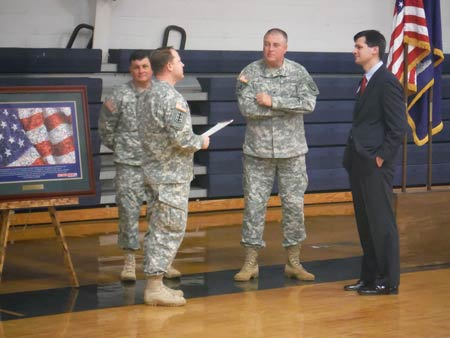122nd Battalion Given Freedom Salute