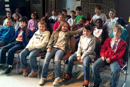 Merriwether Elementary Classifies Minerals at Ruth Patrick