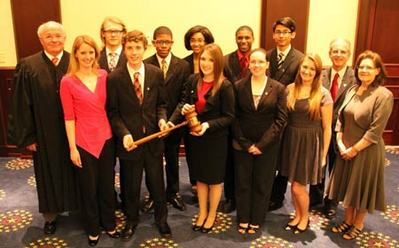 STHS Named Runner-Up in S.C. Bar Mock Trial State Competition