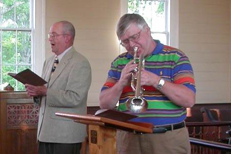 Steven Hendrickson, NSO's Principal Trumpet to Perform at Spann UMC in Ward