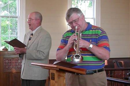 Steven Hendrickson, NSO's Principal Trumpet to Perform at Spann UMC in Ward