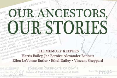 "OEDGS to Hold Book Signing Event for ""Our Ancestors, Our Stories"""