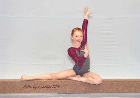 Local Gymnast Wins State Championship in Four Categories