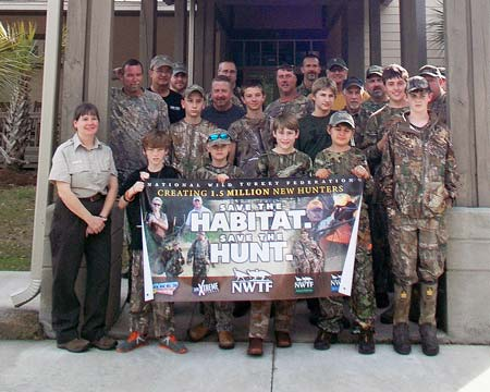 Youth Enjoy Weekend of Turkey Hunting and Education