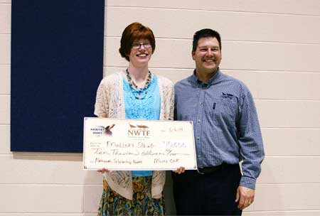 NWTF Announces Winner of 2014 National Scholarship