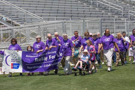 500-700 Participated in Relay For Life 2014