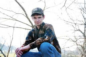 Zayne Aldrich, NWTF Xtreme JAKES member and winner of the 2014 National FFA Collegiate Scholarship funded by the NWTF