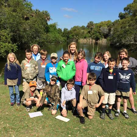 4th Grade Wardlaw Goes to Barrier Island Camp