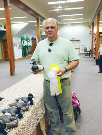 Tim Worth Awarded in Carving Competitions
