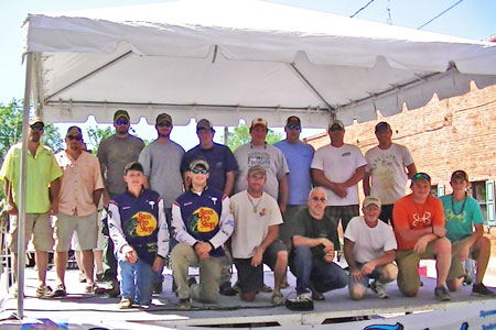 Peach Blossom Festival Fishing Winners