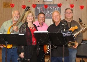 """Yesterday's Sounds,"" are performing on the 21st at the Trenton Festival.  They are heard on Friday nights in Aiken, playing Country, Oldies, Old Tyme Rock n Roll, Shag, Line Dance, Blues. . . at the Aiken DAV."