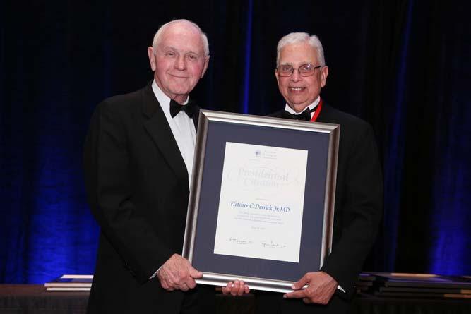 Fletcher C. Derrick, Jr., MD Presidential Citation Recipient