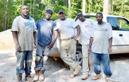 Building the Caretaker's Cabin at Horns Creek