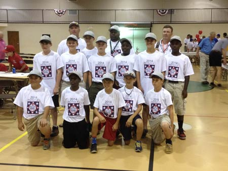 Ozones Falls in Fourth Game of State Dixie Youth Baseball Tournament