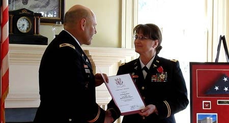 Johnston Resident Retires from Military