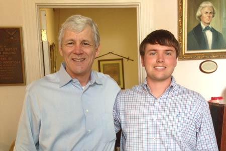 Independent Gubernatorial Candidate Tom Ervin Visits Edgefield