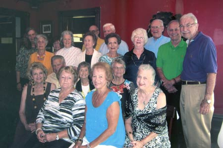 Edgefield High School Class of 1957 Holds 57th Anniversary Reunion