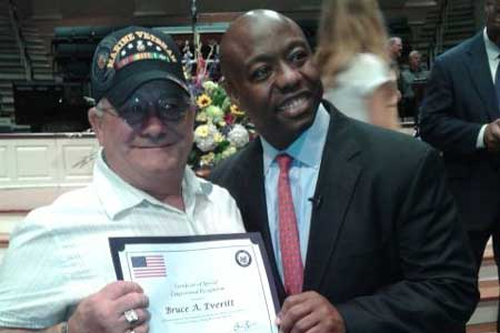 Senator Tim Scott Honors Vietnam Veterans