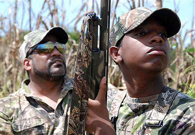 Forty-Five Fields Available for Public Dove Hunting