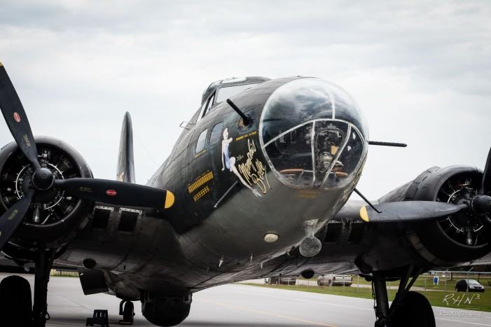 WWII B-17 Bomber Takes Flight over Augusta & Columbia