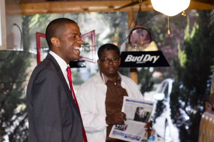 Candidates Make Stop in Johnston