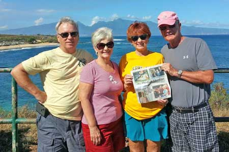 The Advertiser Goes to Hawaii