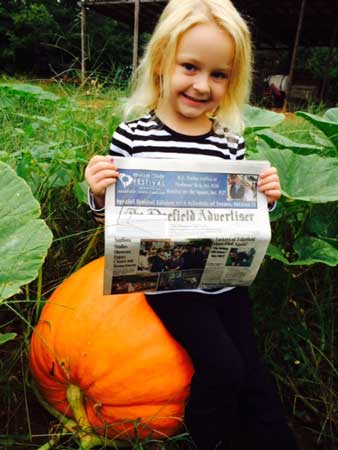 The Advertiser Goes to the Pumpkin Patch
