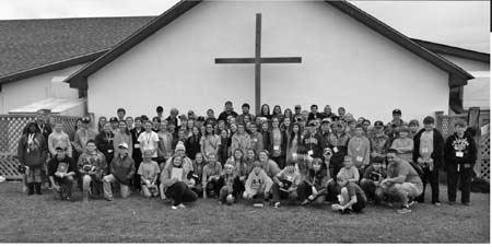 Fellowship of Christian Athletes Rally at the Beach