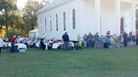 Spann UMC Holds 10th Hymn Sing