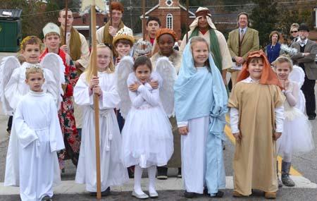 Annual Walking Tour of Churches, December 14th