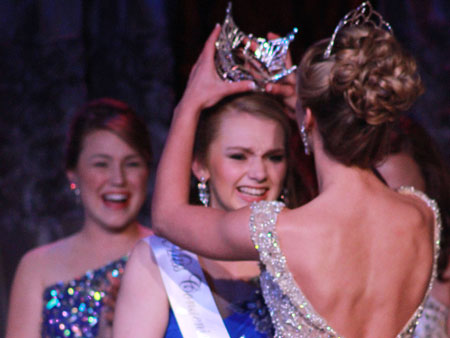 Emily Cleveland is Miss Statesman