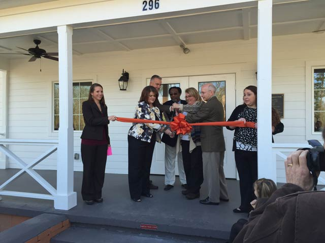 County Opens the Merriwether Center with a Ribbon Cutting