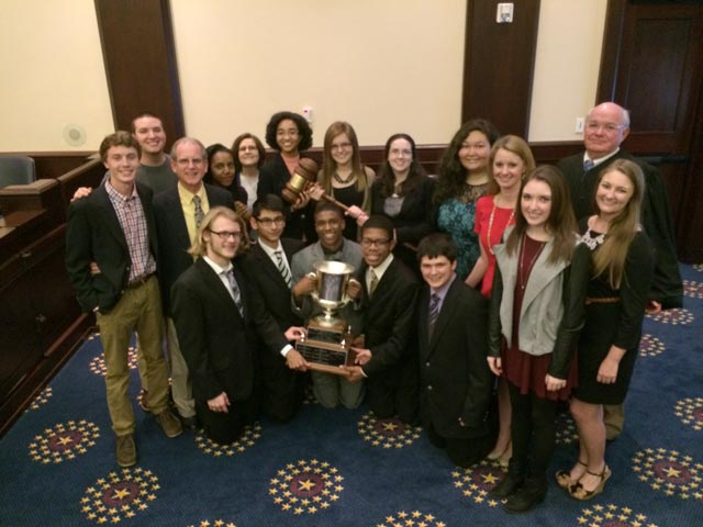 STHS Mock Trial State Champions