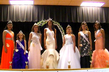 Johnston's Miss Peach Blossom is Chosen