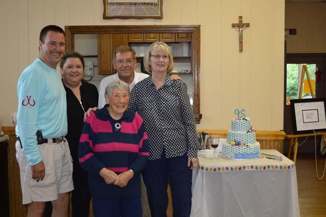 Nancy Guobaitis Celebrates 95th Birthday