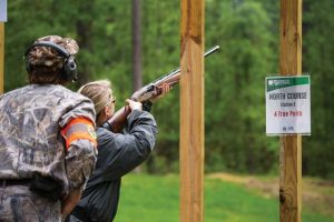 Youth were some of the first members of the public to shoot the Palmetto Shooting Complex's sporting clays courses.