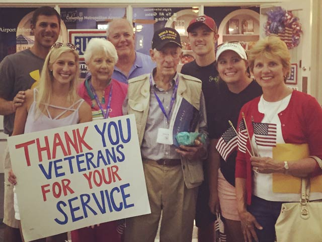 """You Are With the Honor Flight?"""