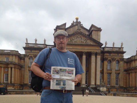 Read All Over – Blenheim Palace, England