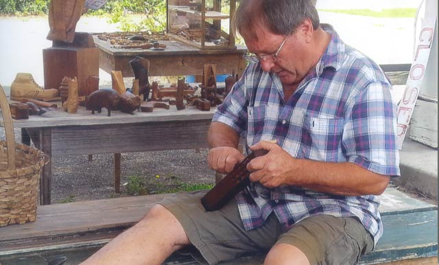 The Carpenter Family of Trenton Have Five Generations of Woodcarvers