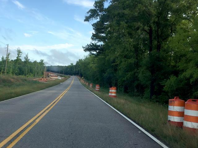 Log Creek Bridge Under Construction