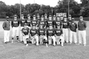 Pictured is the Greenwood American Legion Junior Team. Members of the team from Strom Thurmond High are: Jared Bass, Lakelan Rutland, Payton Smith and Jud Childress.