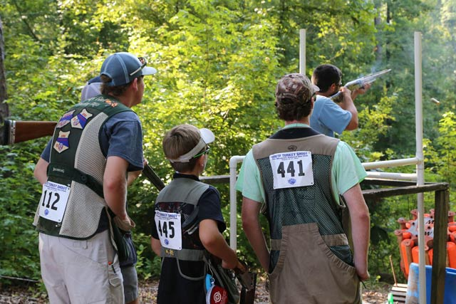 NWTF Sporting Clays Turkey Shoot This Weekend