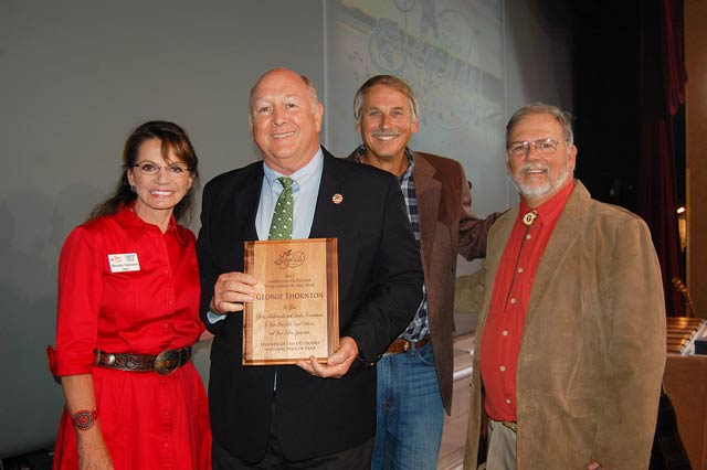 NWTF's Thornton Named American Outdoorsman of the Year
