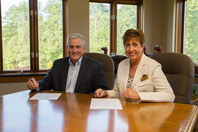 NWTFand SFI Sign Agreement for Forest Health